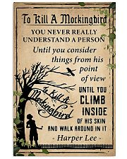 book to kill a mockingbird-pdn-nna 24x36 Poster front