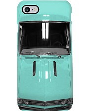 Car Chev 1967 Ch SS 396 Emerald Turquoise PDN-DQH Phone Case i-phone-8-case