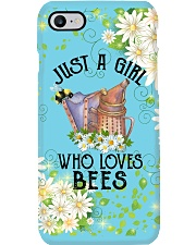 Beekeeping just a girl pc Phone Case i-phone-8-case