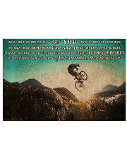 MTB On This Ride PDN ngt 17x11 Poster front