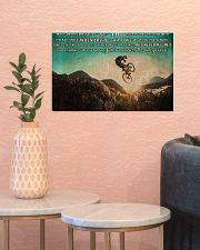 MTB On This Ride PDN ngt 17x11 Poster poster-landscape-17x11-lifestyle-21