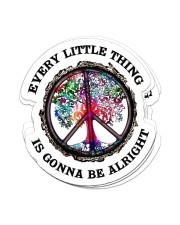 Hippie Every Little Thing Tree Sticker Sticker - 6 pack (Vertical) front