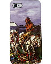 Native Glass PC4 PDN-dqh Phone Case i-phone-8-case