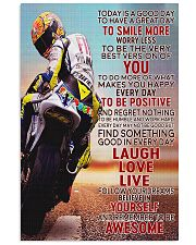 Motor Today Is A Good Day 24x36 Poster front