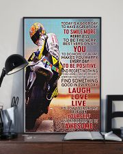 Motor Today Is A Good Day 24x36 Poster lifestyle-poster-2