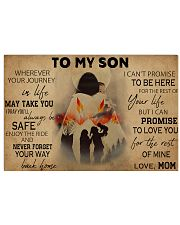 Native To My Son PDN-pml 17x11 Poster front