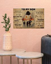 Native To My Son PDN-pml 17x11 Poster poster-landscape-17x11-lifestyle-21