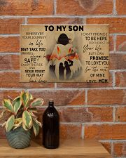 Native To My Son PDN-pml 17x11 Poster poster-landscape-17x11-lifestyle-23