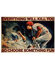 Baseball Choose ST Fun PDN-DQH  36x24 Poster front