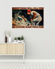 Baseball Choose ST Fun PDN-DQH  36x24 Poster poster-landscape-36x24-lifestyle-01