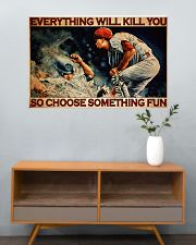 Baseball Choose ST Fun PDN-DQH  36x24 Poster poster-landscape-36x24-lifestyle-21