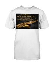 Saxophone Better Than You 2 PDN-dqh Premium Fit Mens Tee thumbnail