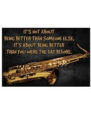 Saxophone Better Than You 2 PDN-dqh 17x11 Poster front
