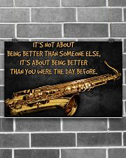 Saxophone Better Than You 2 PDN-dqh 17x11 Poster poster-landscape-17x11-lifestyle-18