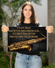 Saxophone Better Than You 2 PDN-dqh 17x11 Poster poster-landscape-17x11-lifestyle-19