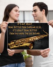 Saxophone Better Than You 2 PDN-dqh 17x11 Poster poster-landscape-17x11-lifestyle-20