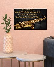 Saxophone Better Than You 2 PDN-dqh 17x11 Poster poster-landscape-17x11-lifestyle-21