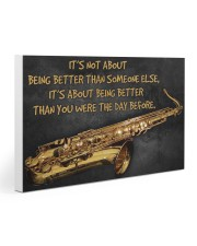 Saxophone Better Than You 2 PDN-dqh 30x20 Gallery Wrapped Canvas Prints thumbnail