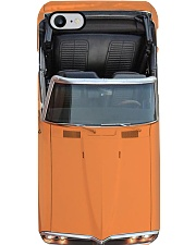 Car Pon 1968 Firebird Orange- PDN-NTV Phone Case i-phone-8-case