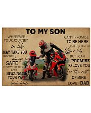 Motocycle To My Son PDN ngt 17x11 Poster front