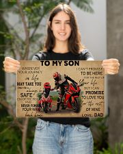 Motocycle To My Son PDN ngt 17x11 Poster poster-landscape-17x11-lifestyle-19