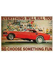 Drag Racing ST Fun 36x24 Poster front
