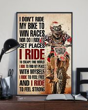 Motorcross I ride 24x36 Poster lifestyle-poster-2