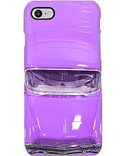 Car Chev 1956 Bel Air purple PDN- ntv  Phone Case i-phone-8-case