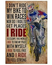 Motocross I Ride PDN-DQH  24x36 Poster front