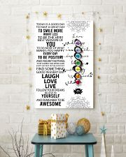 Yoga Today Is A Good Day PDN-DQH  11x17 Poster lifestyle-holiday-poster-3