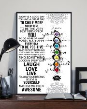 Yoga Today Is A Good Day PDN-DQH  11x17 Poster lifestyle-poster-2