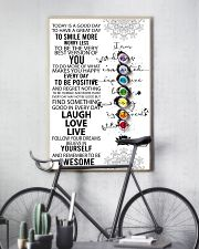 Yoga Today Is A Good Day PDN-DQH  11x17 Poster lifestyle-poster-7