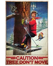 Skiing Film Patrol Tree Dont Move PDN-dqh 11x17 Poster front