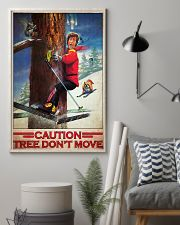 Skiing Film Patrol Tree Dont Move PDN-dqh 11x17 Poster lifestyle-poster-1