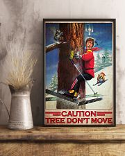 Skiing Film Patrol Tree Dont Move PDN-dqh 11x17 Poster lifestyle-poster-3