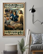 Jesus nurse I can do all thing 11x17 Poster lifestyle-poster-1