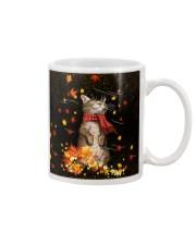 Cat Autumn PC PDN-DQH Mug tile