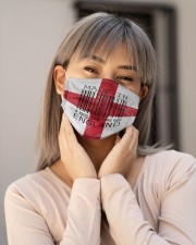 England Made In Code Cloth Face Mask - 3 Pack aos-face-mask-lifestyle-17