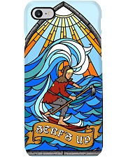 surfing stained glass serf's up case dvhh ngt Phone Case i-phone-8-case