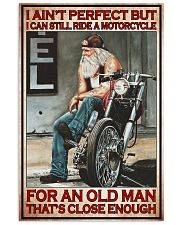 Motorcycle ride a motorcycle PDN PT 24x36 Poster front