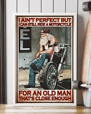 Motorcycle ride a motorcycle PDN PT 24x36 Poster lifestyle-poster-4