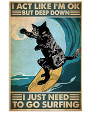 cgoc pos tattoo cat surfing pt phq-ntv 11x17 Poster front
