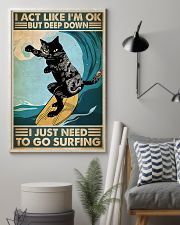 cgoc pos tattoo cat surfing pt phq-ntv 11x17 Poster lifestyle-poster-1