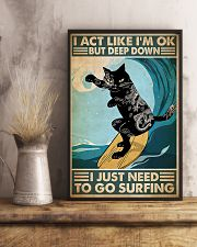 cgoc pos tattoo cat surfing pt phq-ntv 11x17 Poster lifestyle-poster-3