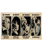 Photograph Strong Brave Humble PDN-nna 17x11 Poster front