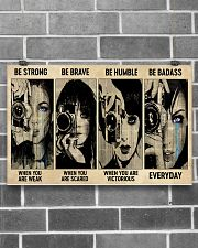 Photograph Strong Brave Humble PDN-nna 17x11 Poster poster-landscape-17x11-lifestyle-18