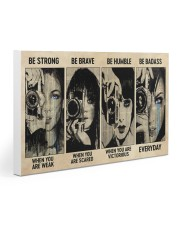 Photograph Strong Brave Humble PDN-nna Gallery Wrapped Canvas Prints tile