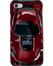 Car Chev C7 Corvet PDN Long Beach Red NNA Phone Case i-phone-8-case
