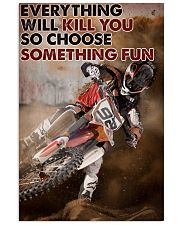 Motocross Choose ST Fun1 24x36 Poster front