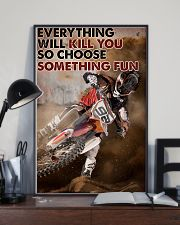 Motocross Choose ST Fun1 24x36 Poster lifestyle-poster-2